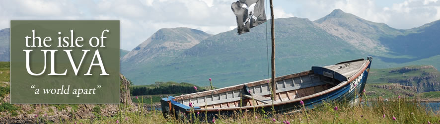 View from close to the ferry slipway on Ulva